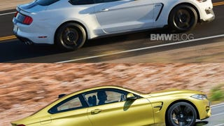 Shelby GT350 throws left-hook at BMW M4