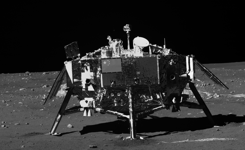 These Are the First Photos Taken From the Surface of the Moon in 37 Years