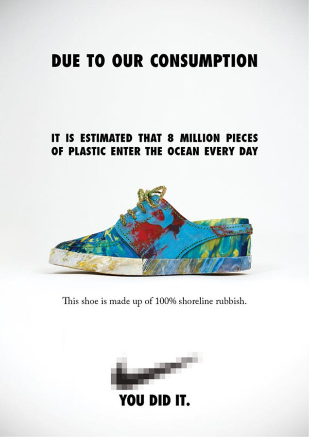 Watch Plastic Ocean Junk Become a Pair of Wild Multi-Colored Sneakers