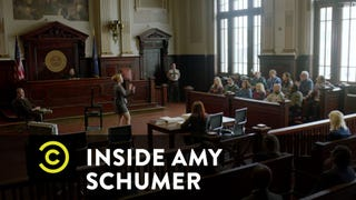 Bill Cosby Gets the Trial America Craves on <i>Inside Amy Schumer</i>