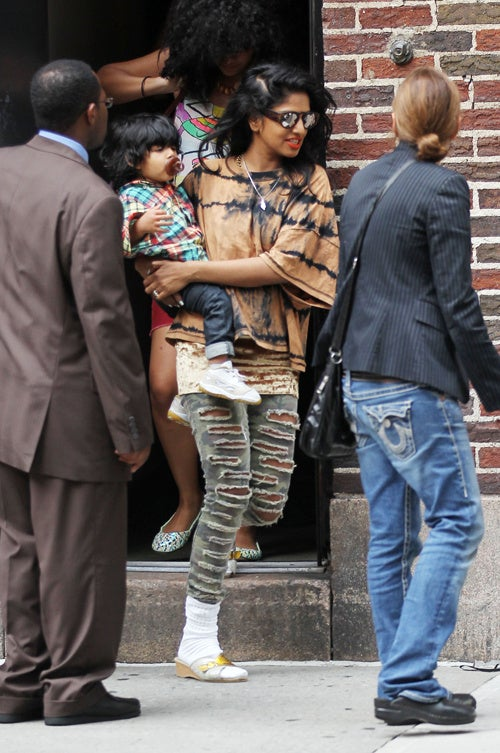 M.I.A. & Son Have Good Genes, Bad Jeans