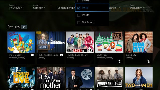 PlayStation Vue (Almost) Looks Like a Cord-Cutter's Dream Come True