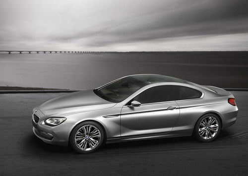 BMW Concept 6 Series Coupe: First Photos