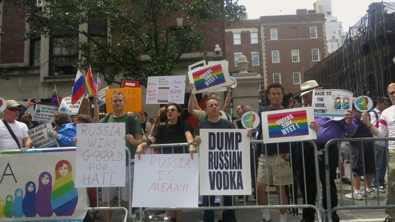 We're Here, We're Queer, and We're Only Drinking Beer