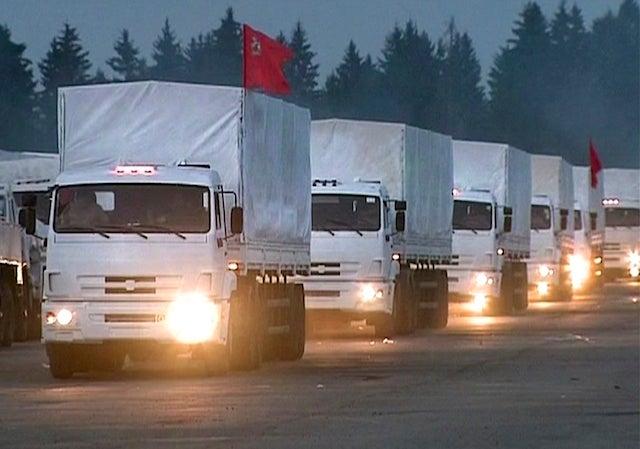 Ukraine Suspicious Russian Aid Convoy Is a Stealth Military Invasion