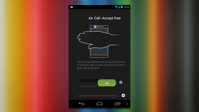 AirCall Answers Phone Calls with a Simple Wave of Your Hand