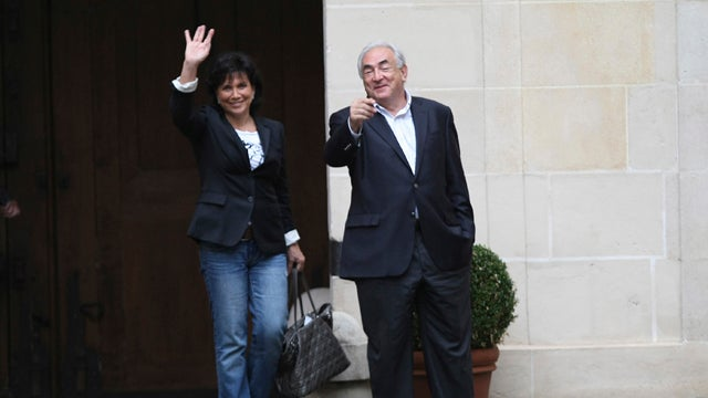 Mixed Reaction As Strauss-Kahn Returns To France