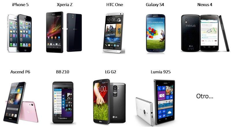 Y el mejor (y peor) smartphone de gama alta es...