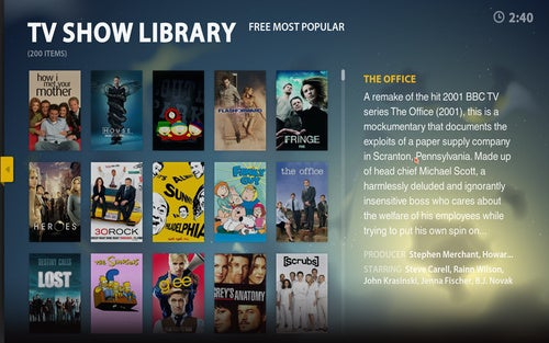Boxee UI Gallery