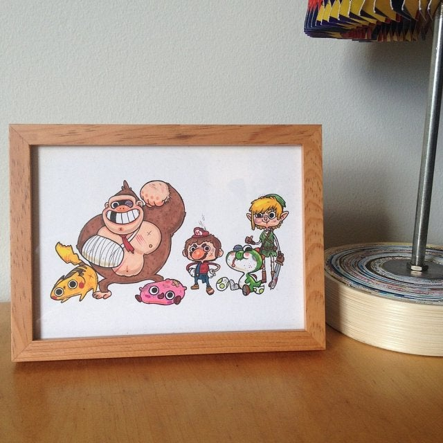 Where to Buy Great Video Game Artwork