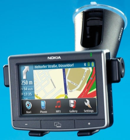 Nokia 500 In-Car Navigation System