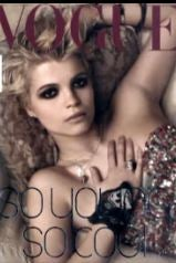 Oh, God: Pixie Geldof Gets Cover Of Italian Vogue