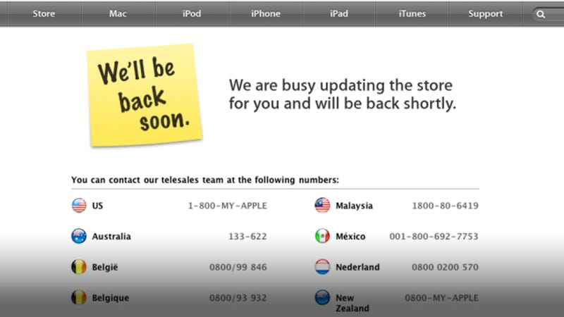 Apple Store Down: Can You Buy an iPad 2 Today?