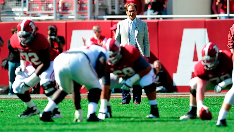 Nick Saban Is A Lunatic