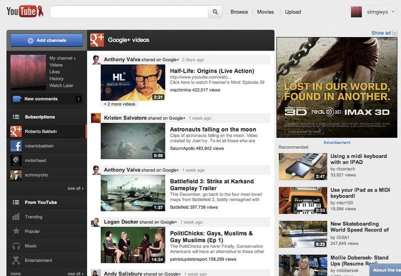 YouTube Redesign Brings Channels and Automagically Knows You Like Kitten Videos