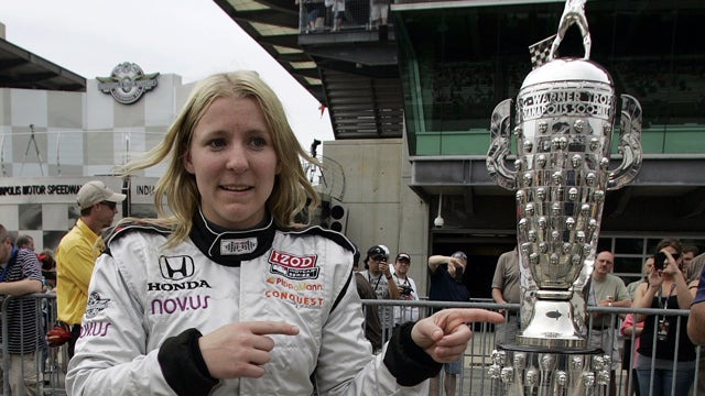Female Race Car Drivers Often Face Red Lights