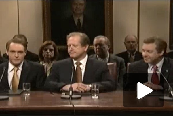 SNL Sketch Takes On Not-So-Big Three Congressional Hearing