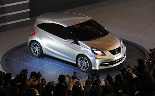 Honda New Small Concept: Nano-Fighter With An Obvious Name