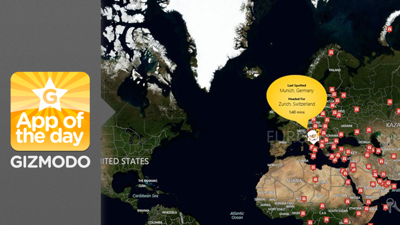 NORAD Tracks Santa: Follow the Big Guy on Any Smartphone