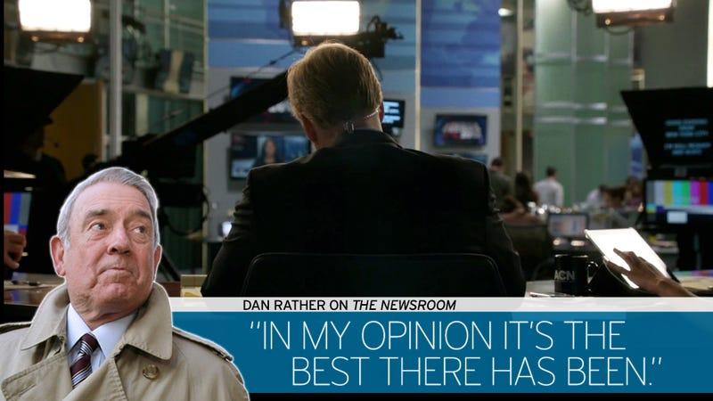 Subplots Swirl: Dan Rather Recaps The Newsroom