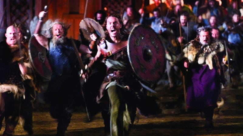 Fierce, fashionable Vikings filed their teeth and ironed their clothes