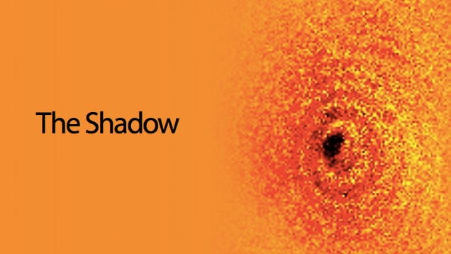 This Is the Shadow of a Single Atom