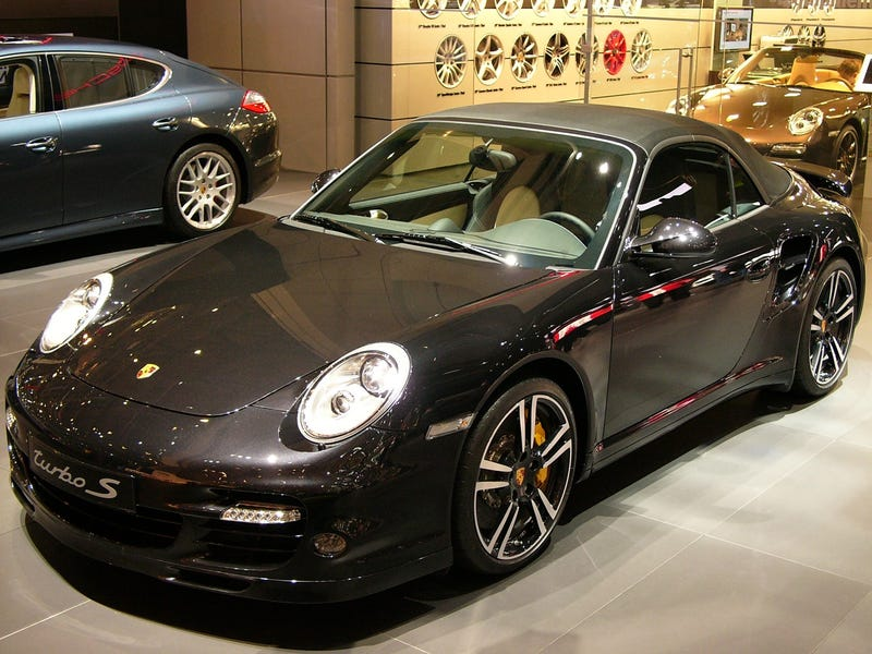 2011 Porsche 911 Turbo S Cabriolet: Bald Spot, Not Pictured