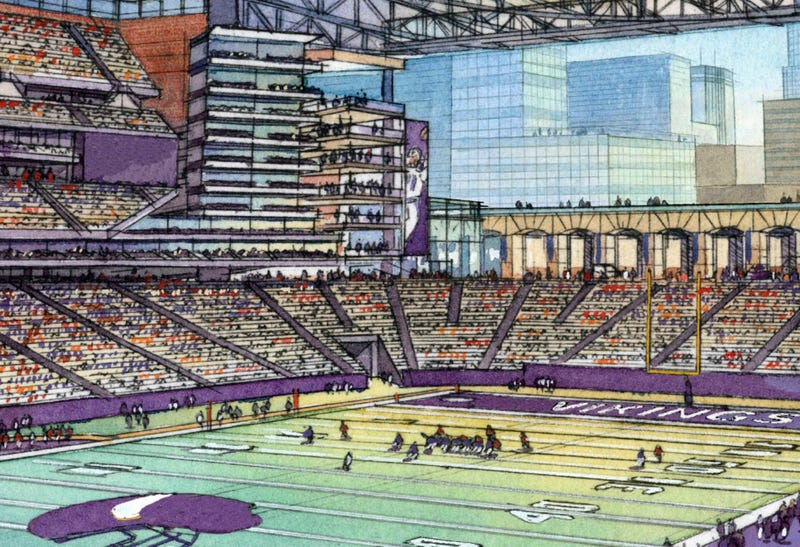 Minnesota Legislature Votes To Hand Over $800 Million So Shitty Football Team Can Build Shitty New Stadium