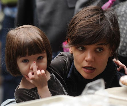 Suri Cruise Awfully Full Of Herself For A Baby