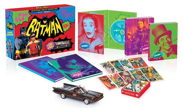 Everything You Need To Know About The Amazing Batman '66 Blu-Ray/DVDs