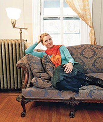Elizabeth Gilbert Has A Really Nice Couch
