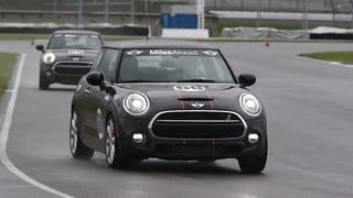 The Nine Things You Learn Driving Minis At Indianapolis Motor Speedway