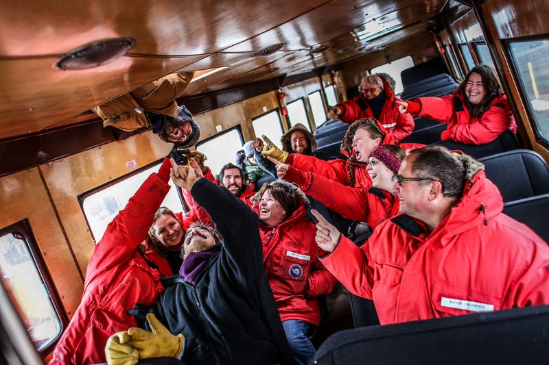 This Reader Drives A 67,000-Pound Bus In Antarctica