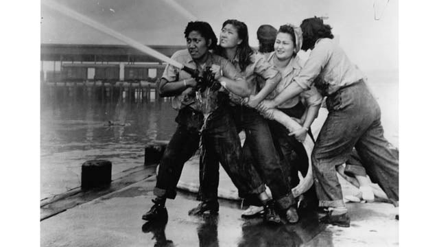 Who Are The Female Firefighters In This Pearl Harbor Photo?