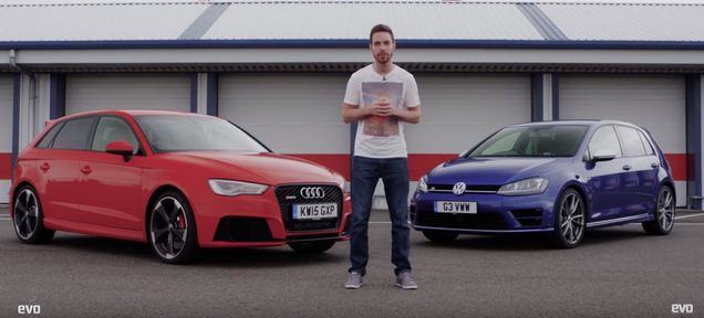 Is The Golf R Faster Than The Way More Expensive Audi RS3?
