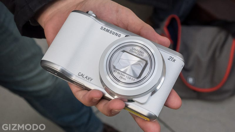 Samsung Galaxy Camera 2: The Android Franken-Camera Gets Better Brains