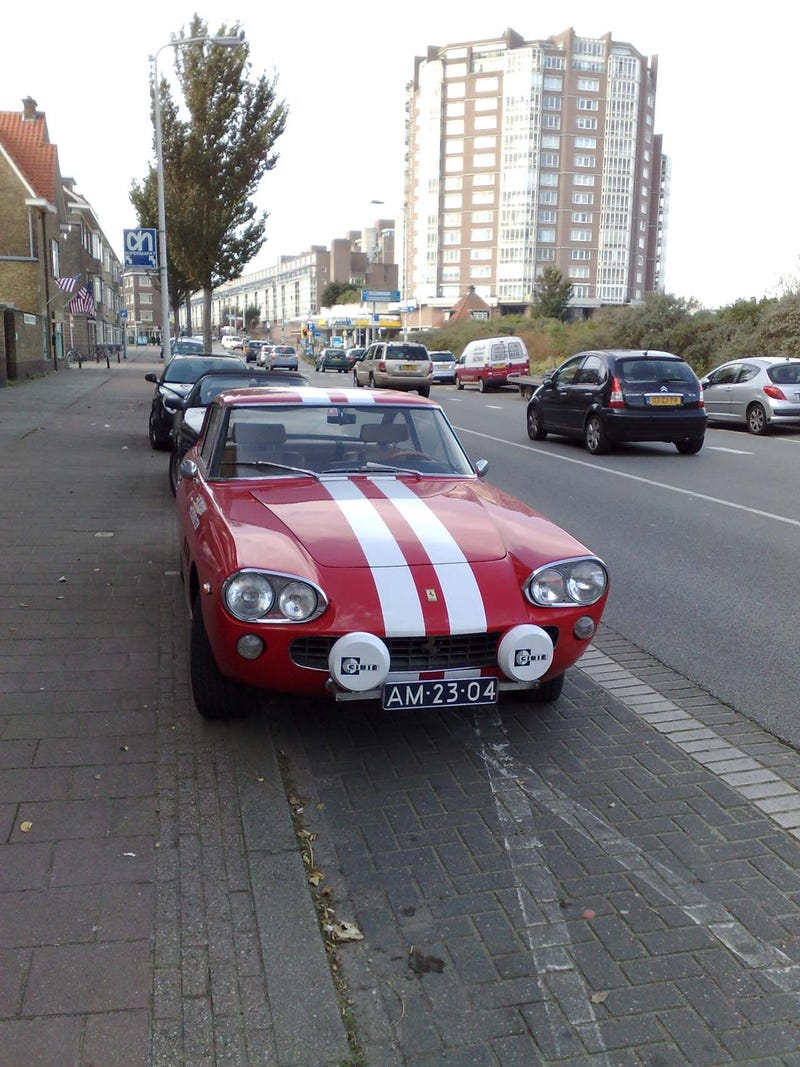 Just Another Street-Driven Ferrari 330 GT Down On The Hague Street