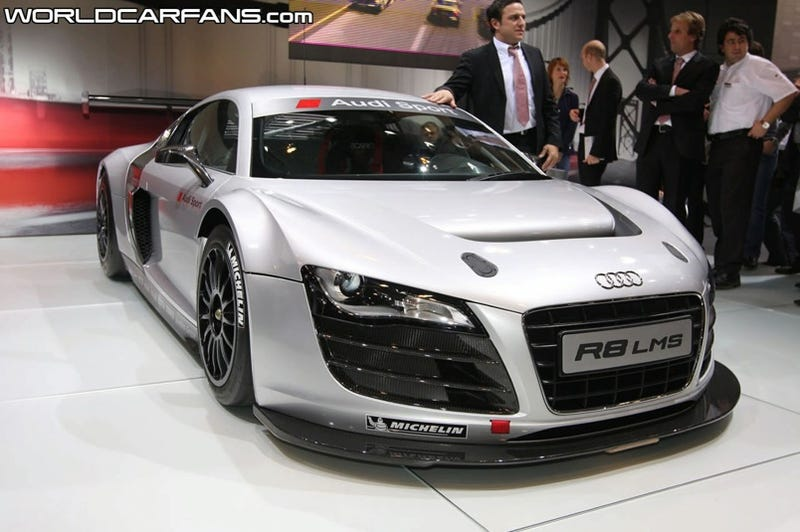 First 500 HP 10-Cylinder Audi R8 LMS Unveiled, Delivered