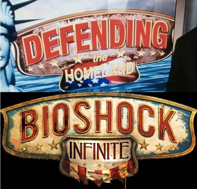 Fox News Takes Some Liberties with the BioShock Infinite Logo