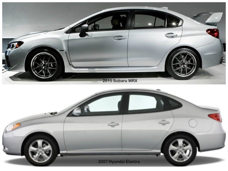 WRX looks like a Hyundai- MCM