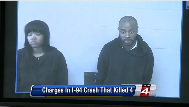 Arguing Couple That Caused Deadly Detroit Crash Charged With Murder