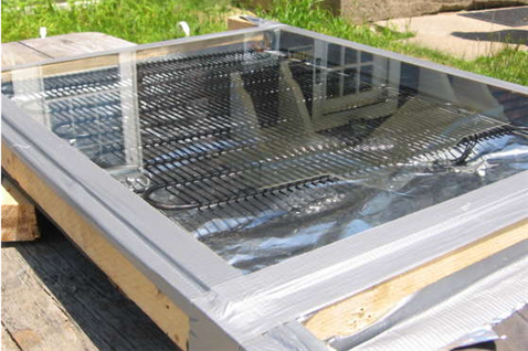 Build a solar water heater for under $5