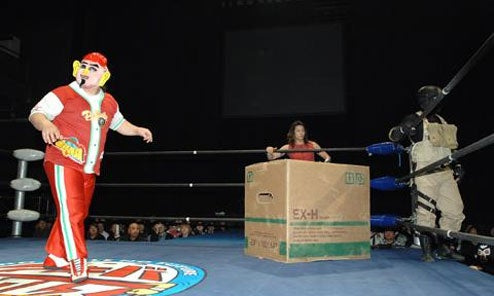 Classic Metal Gear Moves Work, But Only On Pro Wrestlers