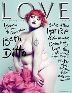 """British GQ Editor On Beth Ditto: """"Fat… A Porker… A Bad Example"""""""