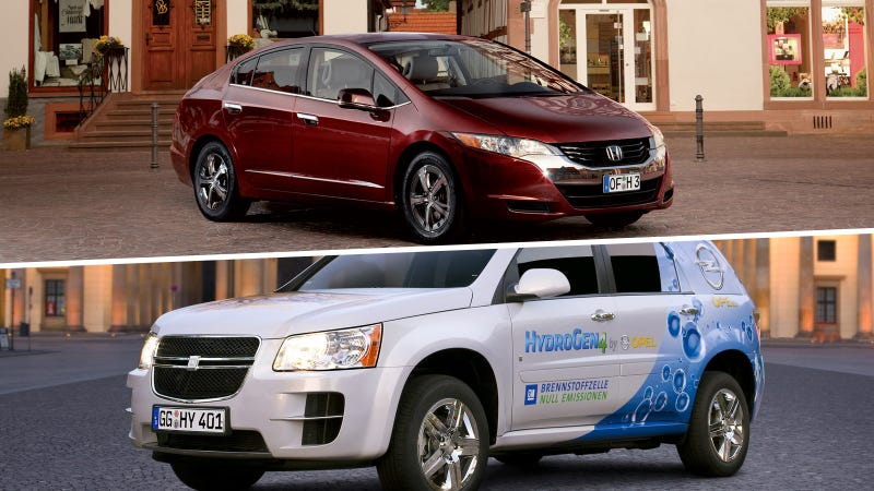 GM And Honda Form Hydrogen Partnership In Never-Never Land