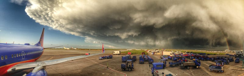 Check Out This Huge Storm Near Denver Airport Last Night