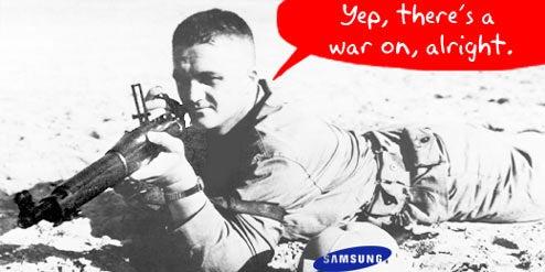 Samsung Fires First Shots in Flat-Panel Price War