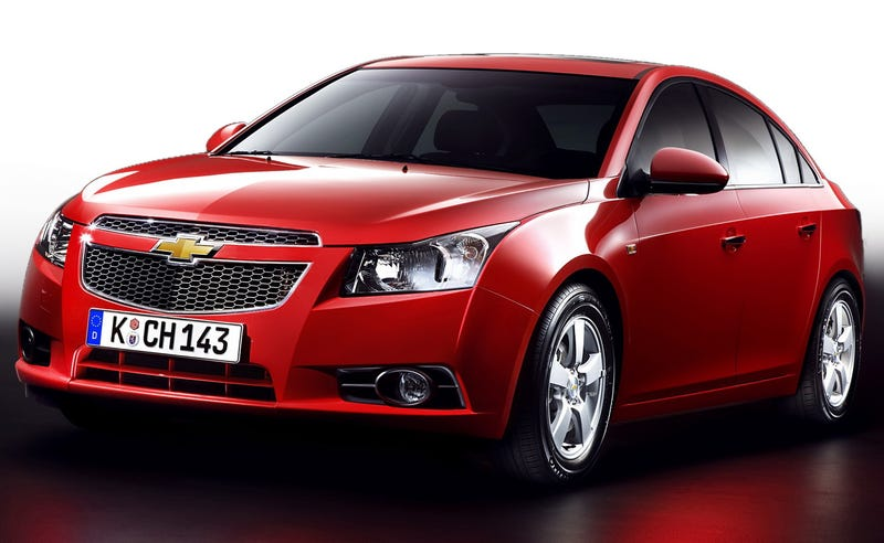 Where the hell is the Cruze SS?