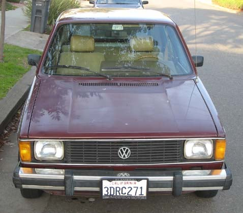 1983 Volkswagen Rabbit LS
