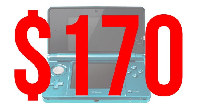 Nintendo 3DS Gets Sudden, Massive Price Drop